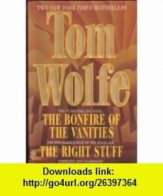 Tom Wolfe Two Complete  (9780517119983) Tom Wolfe , ISBN-10: 0517119986  , ISBN-13: 978-0517119983 ,  , tutorials , pdf , ebook , torrent , downloads , rapidshare , filesonic , hotfile , megaupload , fileserve