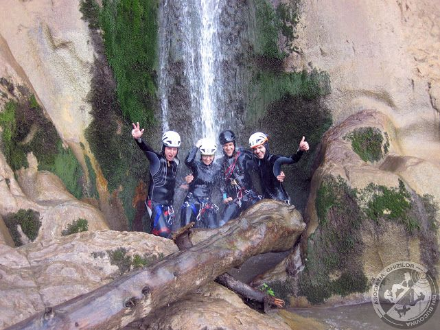 Canyoning in Romania. By Romania's Friends and Bucovina Guides. For more information contact us contact@romaniasfriends.com