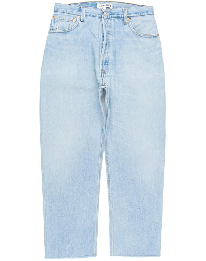 Shop Re Done Denim For Men And Women Online Re Done Jeans Are The Vintage Denim Of Your Dreams Worn Perfectly And Remade Vintage Denim Modern Fit Mens Denim