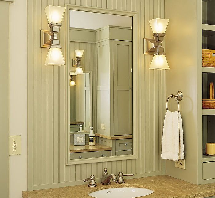 17 best images about bathroom lighting over mirror on - Bathroom mirror and lighting ideas ...