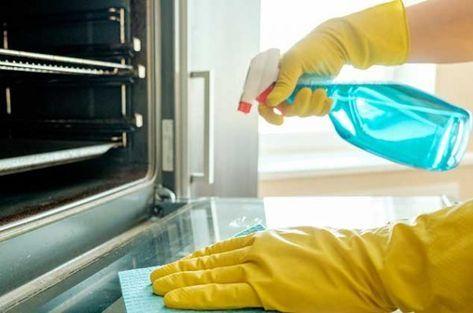 ¡Olvídate de tallar por horas! Aprende a hacerlo de la manera más fácil como limpiar tu horno #horno #limpieza #limpiar #hogar #tips #muebles #cocinas