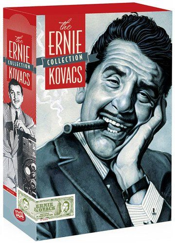 """""""The Ernie Kovacs Collection,"""" new on DVD, gives the contemporary viewer an opportunity to admire Kovacs, a seminal television comedian."""