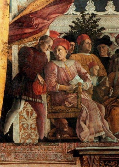 Andrea Mantegna - The Court