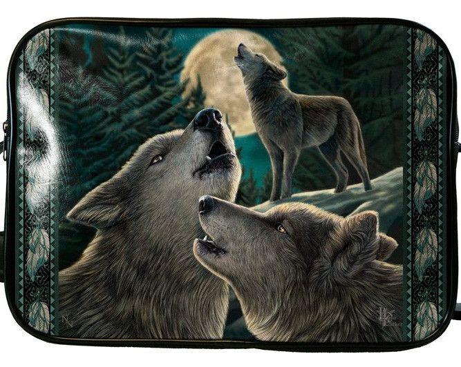 Bolso Wolf Song de Lisa Parker #lobo #luna #gotico #goth #xtremonline