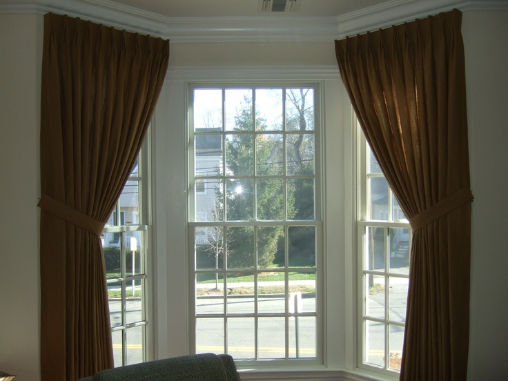Long Bay Windows : Best images about bay window treatments on pinterest