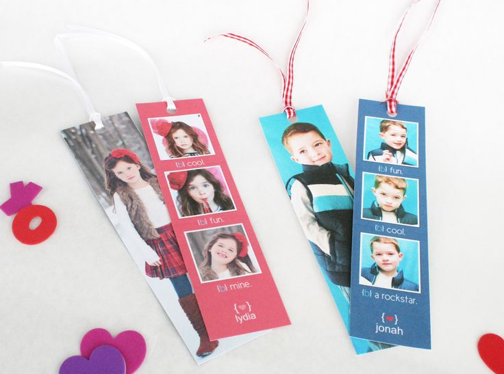 diy valentine bookmarks fun for your kids to hand out at school for