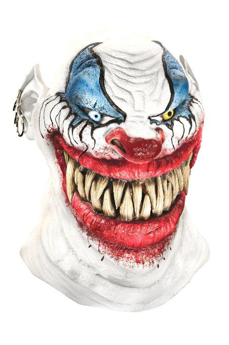 Foam #Latex Mask, Deluxe Chopper The #Clown: Clothing  | Zombie Infested World  | Shop Halloween Costumes | Horror Costumes | Scary masks | zombie infested world | www.zombieinfeste... #halloween #zombies #costumes #masks #pranks #texaschainsaw #scarycostumes #halloween #halloweencostumes #womenscostumes #horrorcostumes #Holidays #Holidayparties #menscostumes #kidscostumes #clown_Mask http://www.zombieinfestedworld.com/halloween-masks-for-sale-online.html