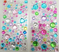 Восемь маленьких воска ребенок творческих DIY материалы камни наклейки наклеенной наклейки алмазов точечные аксессуары ручной работы