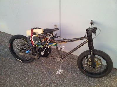 Liveforphysics bicycle of doom 85mph