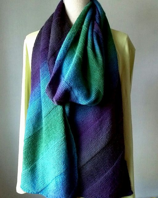 Ravelry: biased transitions pattern by Jenny Faifel