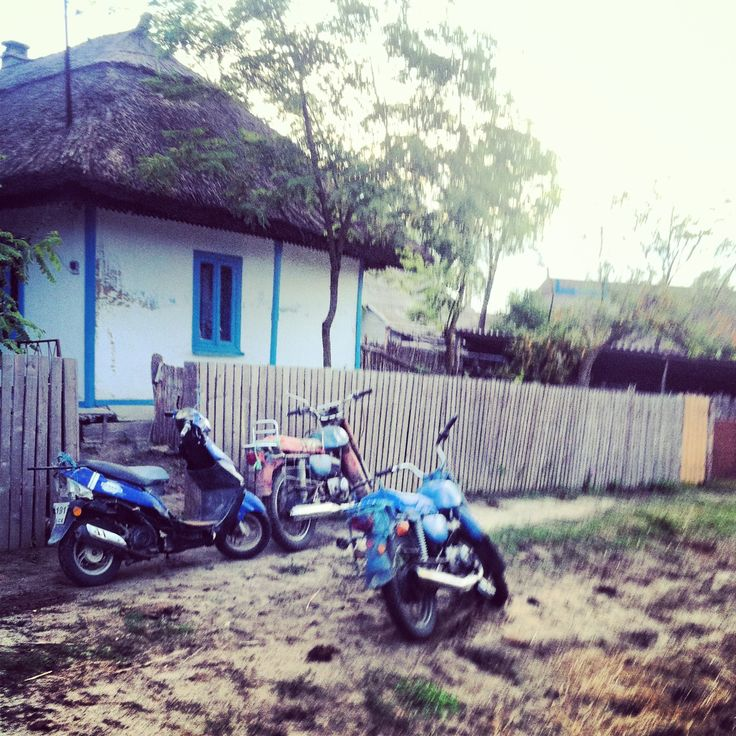 Means of transportation in Letea village, Tulcea - Danube delta
