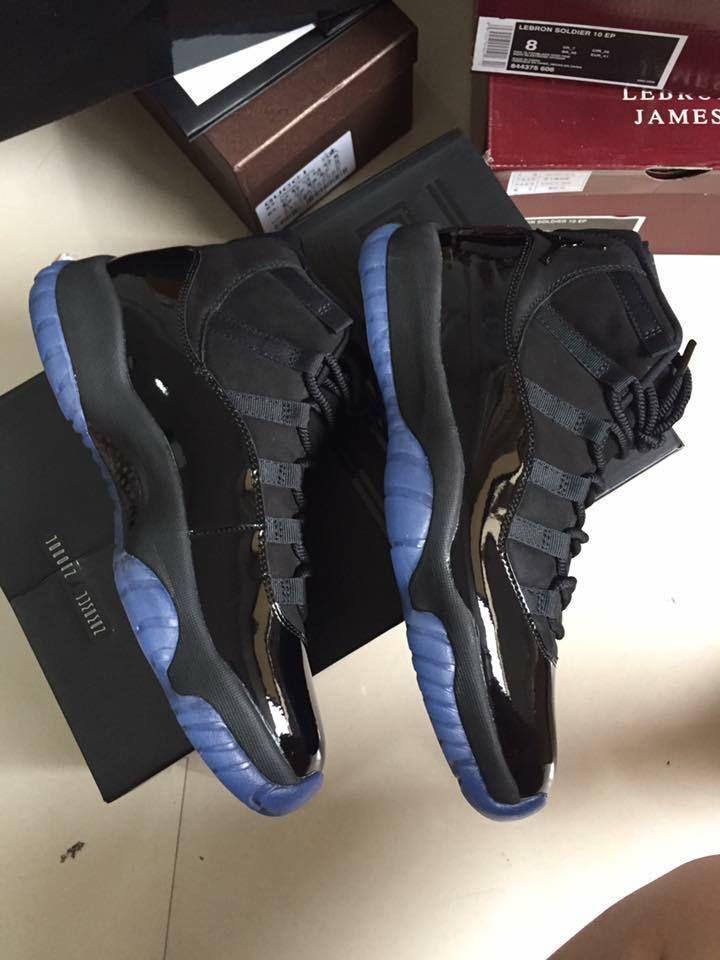 wholesale dealer 7a884 cd941 Air Jordan Retro XI Triple Black - READ Below - Cap and Gown Prom Night -  Men s  Jordan  AthleticSneakers