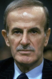 Hafez al-Assad (Arabic: حافظ الأسد‎ Ḥāfiẓ al-ʾAsad, Levantine pronunciation: [ˈħaːfezˤ elˈʔasad]; 6 October 1930 – 10 June 2000) was a Syrian statesman, politician and general who served as Prime Minister of Syria between 1970 and 1971 and then President between 1971 and 2000. He also served as Secretary of the Syrian Regional Command of the Arab Socialist Ba'ath Party and Secretary General of the National Command of the Ba'ath Party from 1970 to 2000 and Minister of Defense from 1966 to…