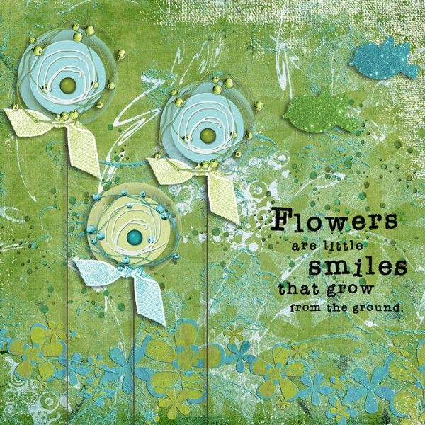 Flowers Digital Art Journal