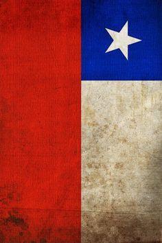 chilean flag iphon e wallpaper