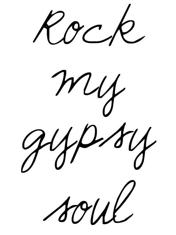 gypsy soul//