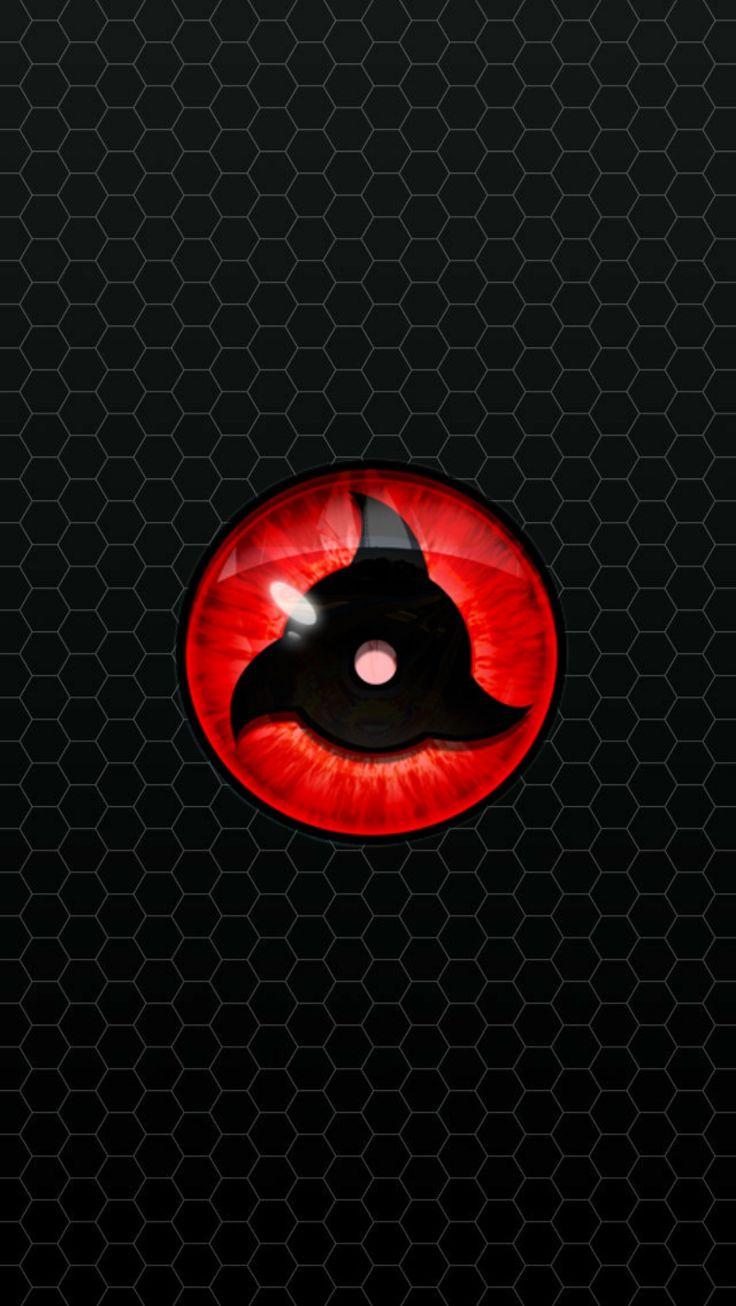 #naruto #sharingan #eyes #black #wallpaper #android #iphone