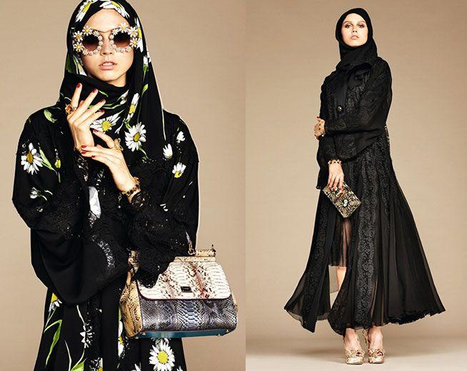 Vem ver a coleção que a Dolce & Gabbana lançou pras mulheres árabes