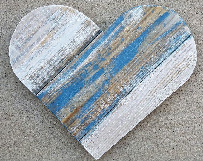 Corazón de la gran plataforma de madera | Corazón | Corazón de madera | Corazón de madera de palet | Corazón grande