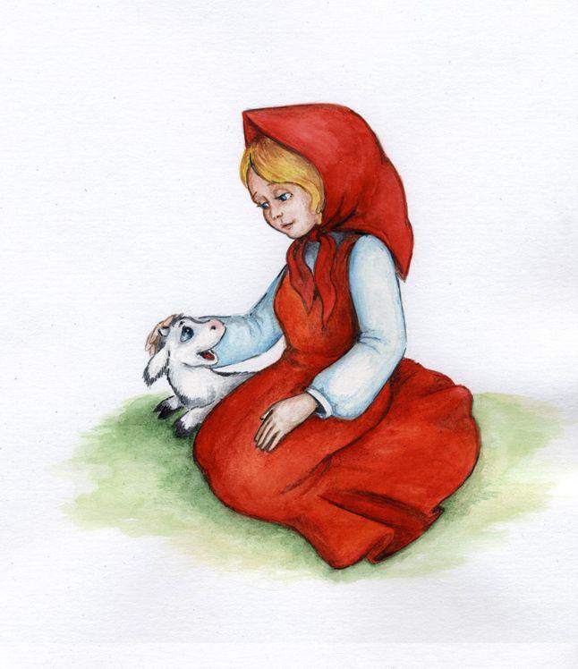 сестрица аленушка и братец иванушка картинки и рисунки станет
