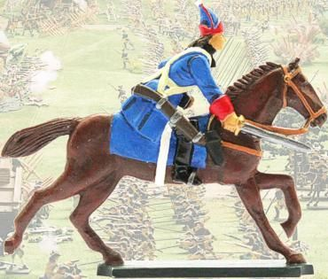 Prince August  - PAS937: Russian Kropotov Cavalry Man 40mm Scale Mould