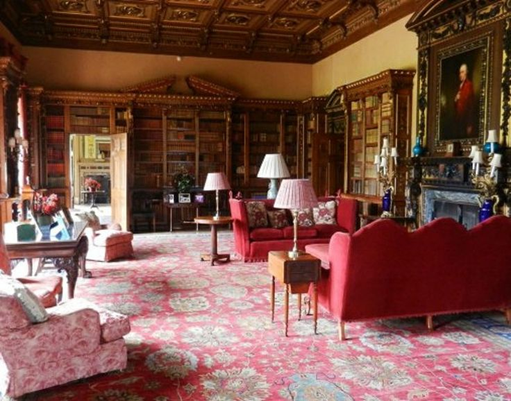Downton Abbey - Library