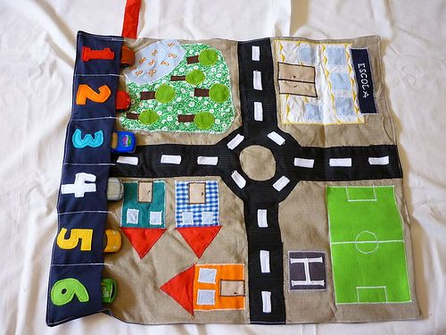 Car play mat
