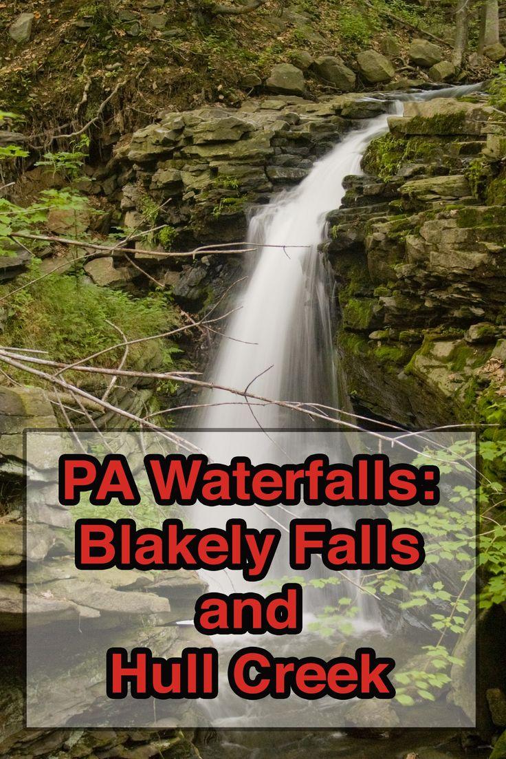 Pennsylvania Waterfalls The Hidden Blakely Falls in