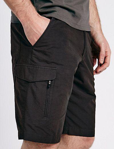 Cotton Rich Trekking Shorts | M&S