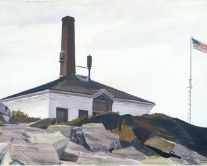House of the Foghorn, I - Edward Hopper