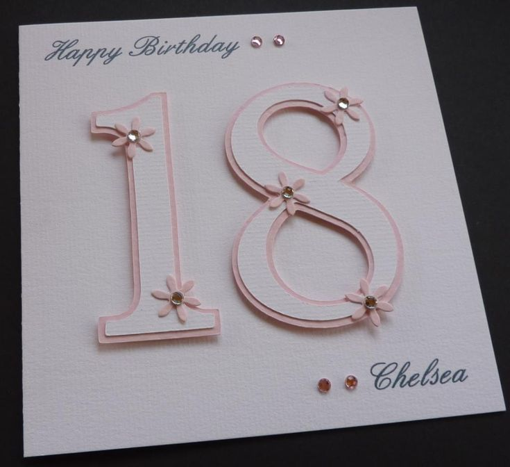 12 best 18th birthday cards images on Pinterest ...