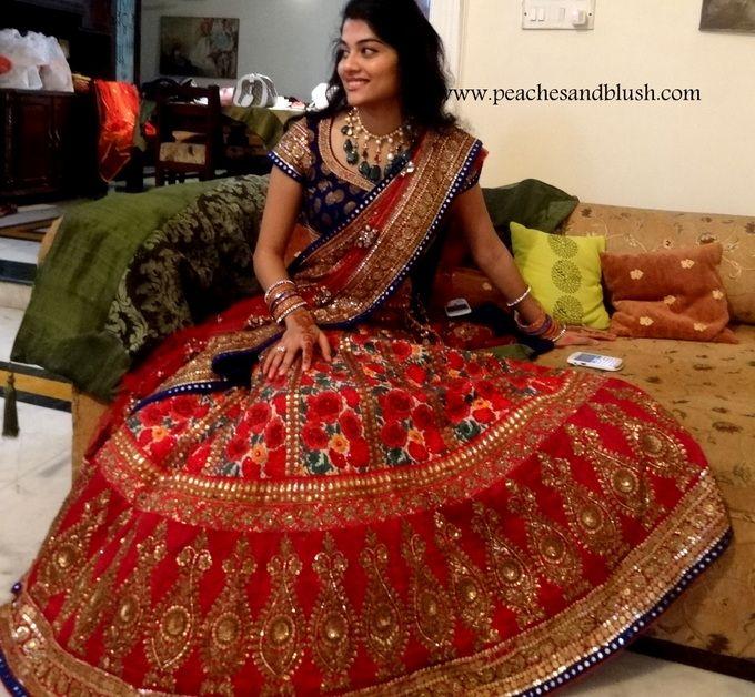 My wedding lehenga