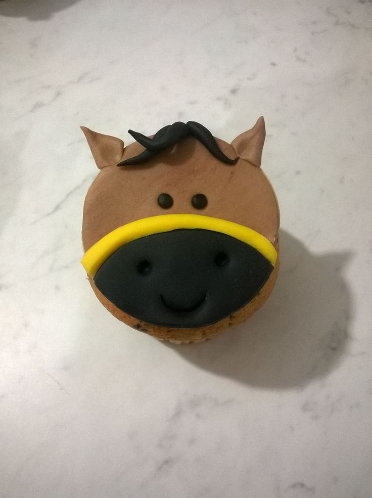 Horse, cupcake, cavallo