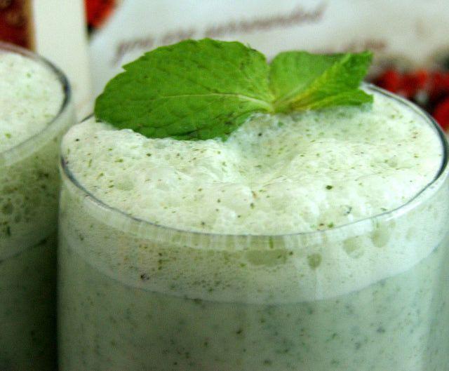 Batidos o licuados verdes con té para adelgazar y depurar: Licuados verdes con fruta, verdura y té: salud y pérdida de peso