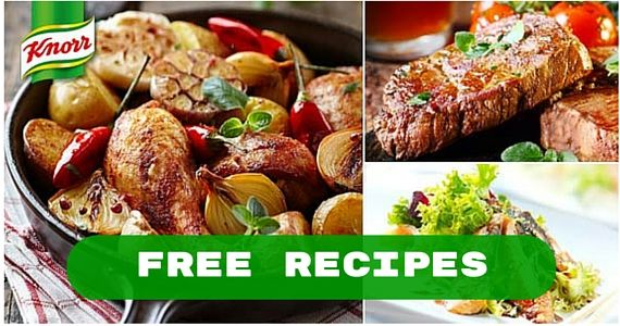 Get Custom Recipes for FREE with Knorr