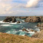 Photo prise lors du tour de Belle Île en Mer en Bretagne, France