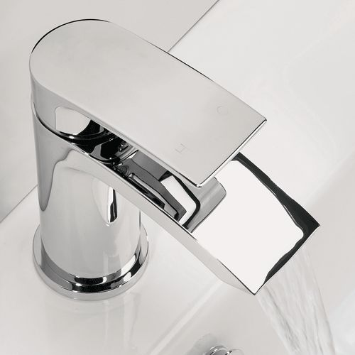 Flow Basin Mixer Tap With Flip Top Waste | bathstore