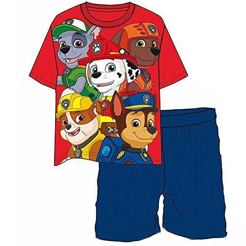 PAW PATROL - Conjunto Pijama Patrulla Canina Team Red - 5 #regalo #arte #geek #camiseta
