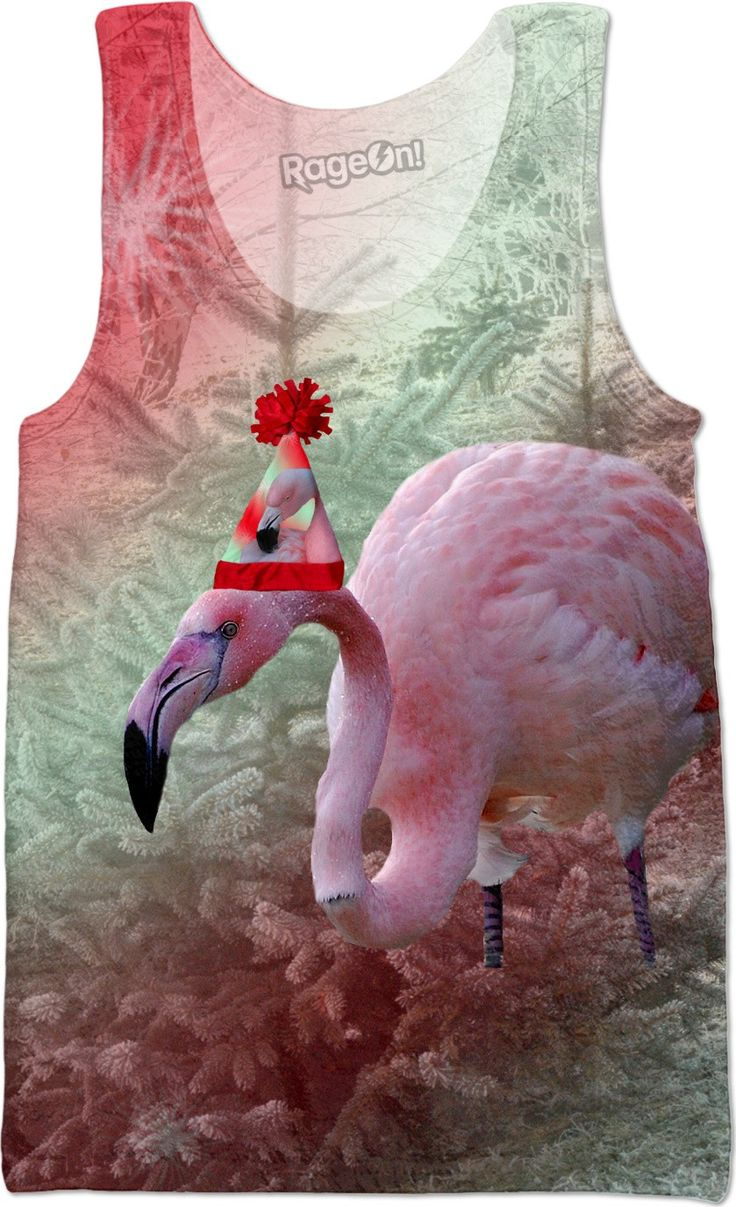 Check out my new product https://www.rageon.com/products/christmas-flamingo-tank-top on RageOn!
