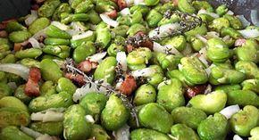 Une délicieuse recette printanière de fèves fraiches poêlées à déguster en plat ou en accompagnement de grillades ou d'agneau, l'occasion de redécouvrir ce légume ancien