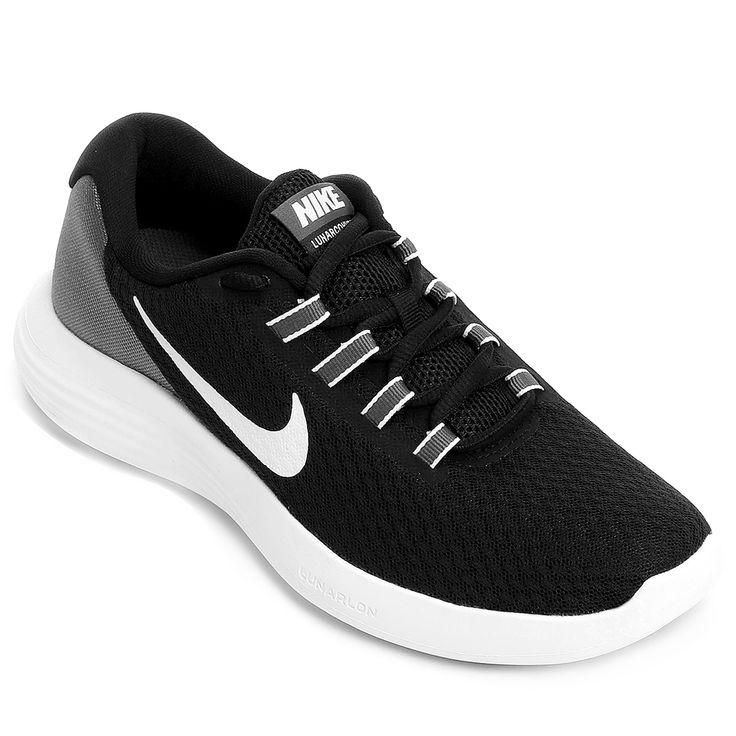Tênis Nike Lunarconverge Feminino Preto e Branco | Netshoes