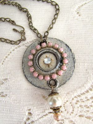 vintage hardware to jewelry - inspirational blog!