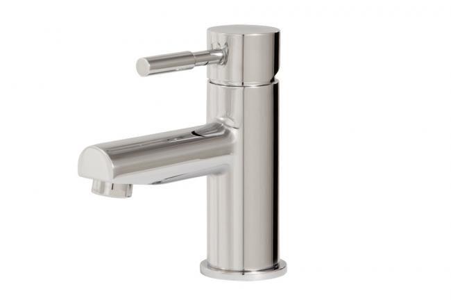 Modern centerset bath faucet by Aquabrass / Geo Collection