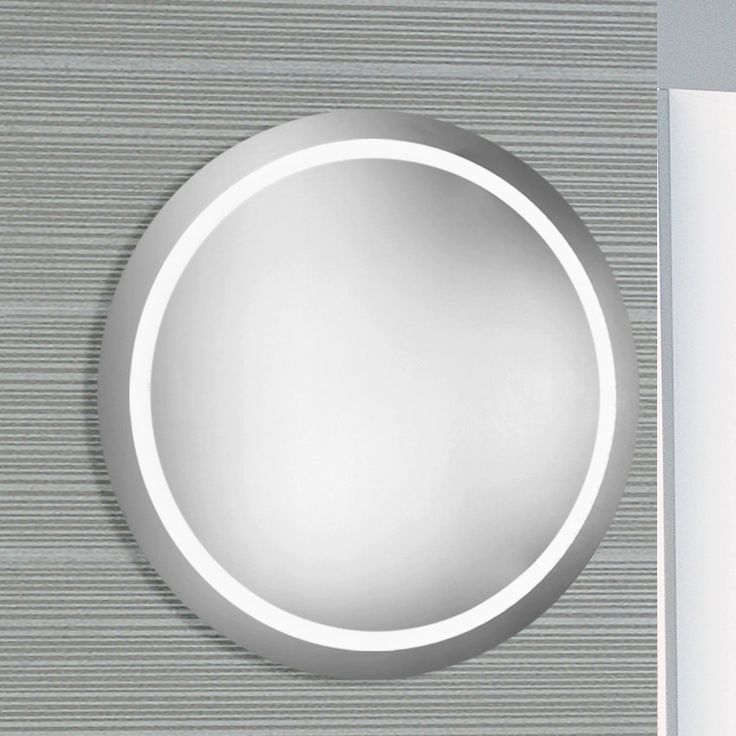 LED Electric Round Mirror