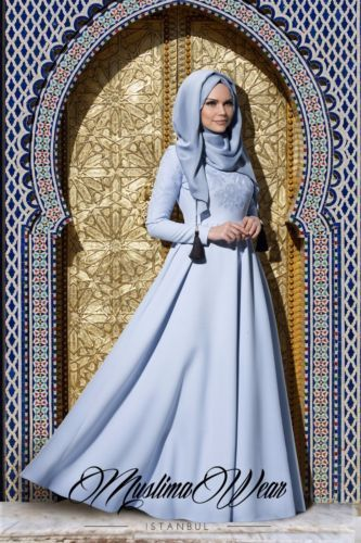 Maxi-Long-Dress-with-Long-Sleeves-Muslima-Wear-Brand-Baby-Blue-Size-S