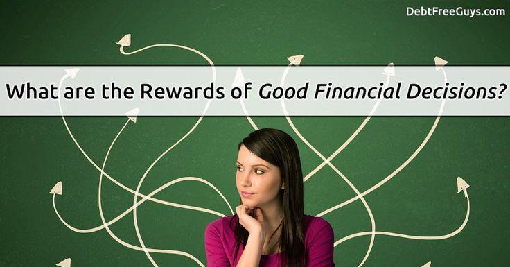 Making Good Financial Decisions | Debt Free Guys