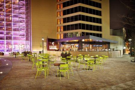 Hyatt Regency Greenville-NOMA at Night http://www.greenville.hyatt.com/en/hotel/home.html