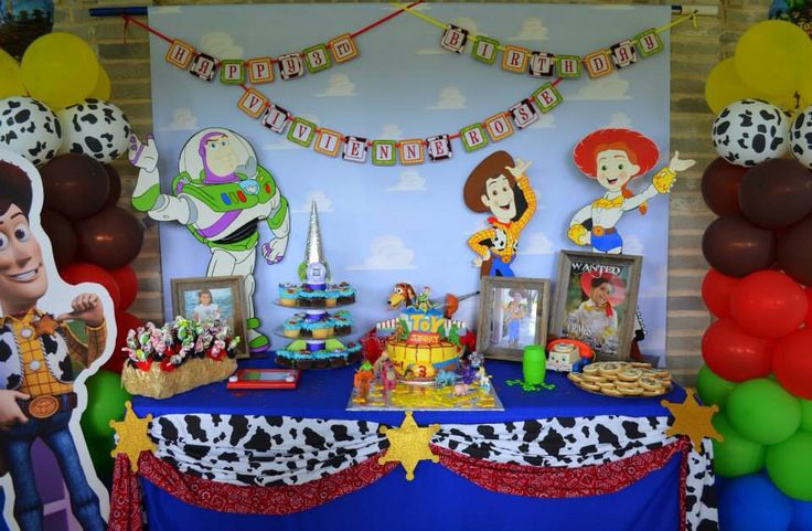 Toy Story Party Main Table Toy Story Party Toy Story