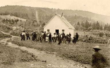 Soda Creek Indian Reserve, 25 July 1914.
