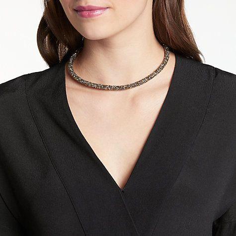 Buy John Lewis Sparkle Magnetic Necklace, Bronze Online at johnlewis.com
